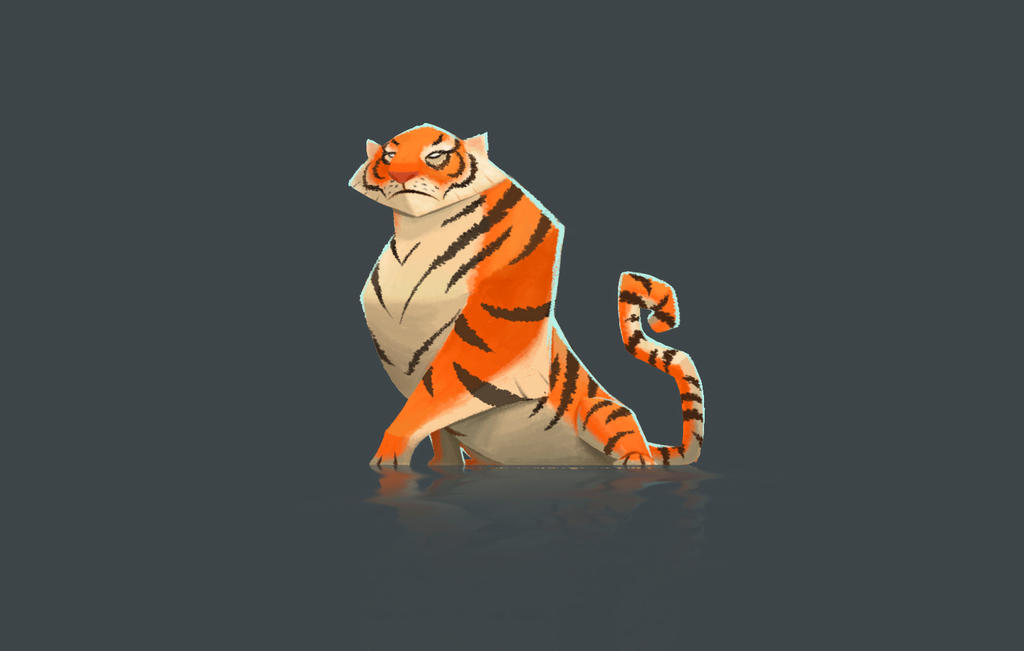 Tiger ConceptArt by Anthony-g09