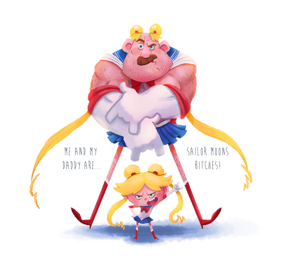Sailor Moon Family by Anthony-g09