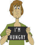 Shaggy is hungry