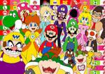 Mario crew 25th anniversary