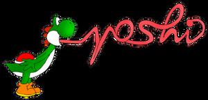 Yoshi tongue art