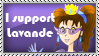 Princess Lavande Stamp by ZeFrenchM
