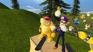 Mario Skateboarding 4