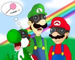 Pyrovision 2 : Mario Luigi and Yoshi