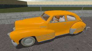 Daisy's retro car by ZeFrenchM