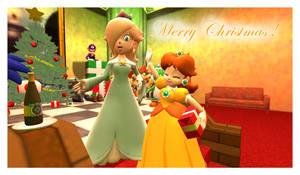 Mario Christmas Wish card 7