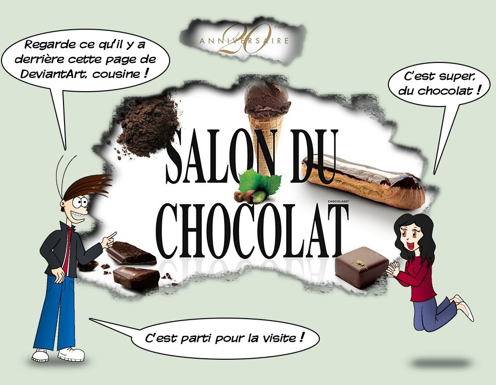 Salon du chocolat 2014 00 by zefrenchm on deviantart for Salon du chocolat montauban