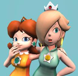 [SFM] Gossip princesses by ZeFrenchM