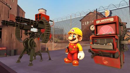 [SFM] Super Mario Engie