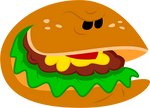 Evil burger by ZeFrenchM