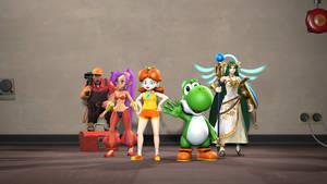 [SFM] Heroes lineup