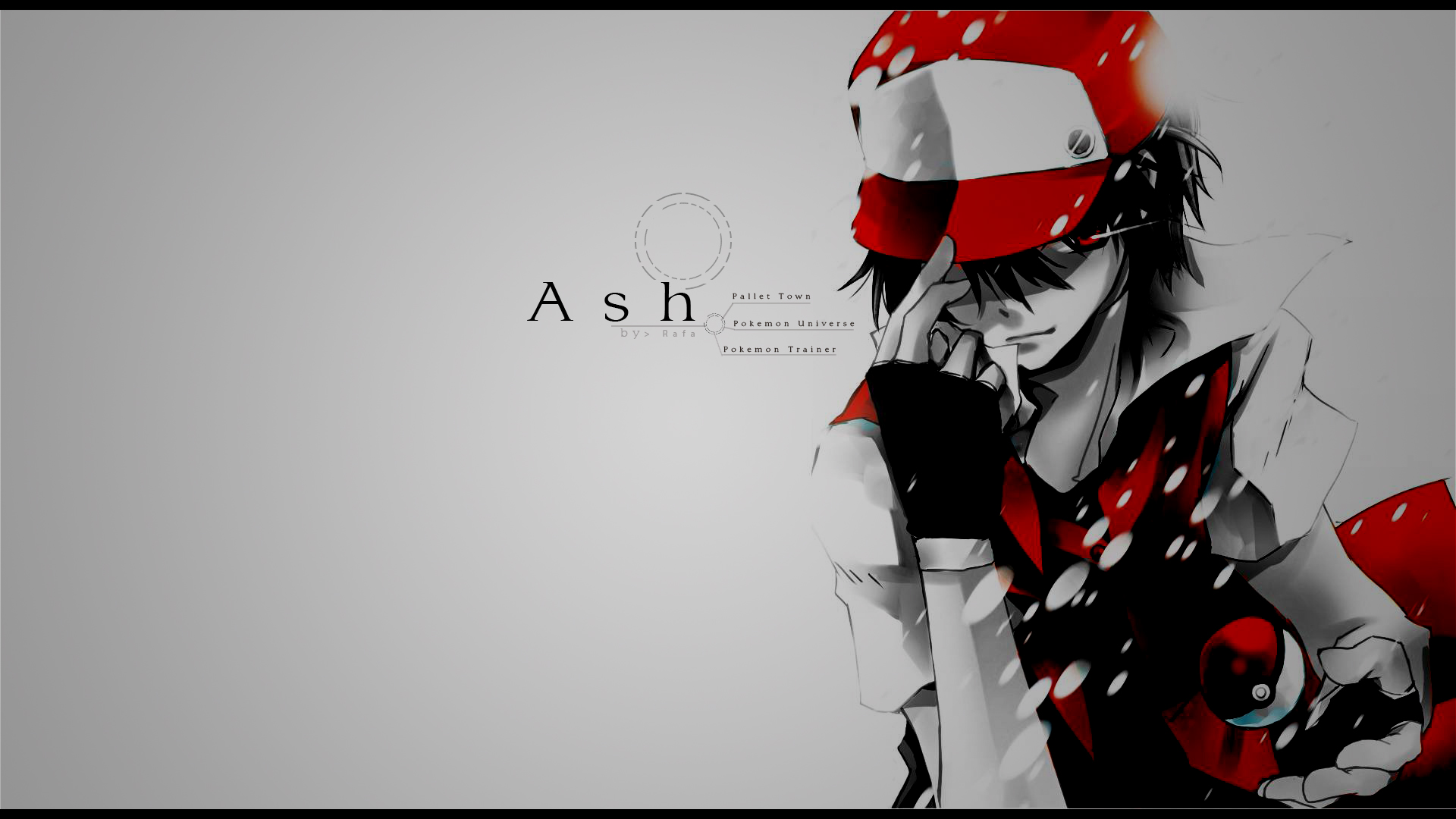 Ash - Pokemon by Rafaken