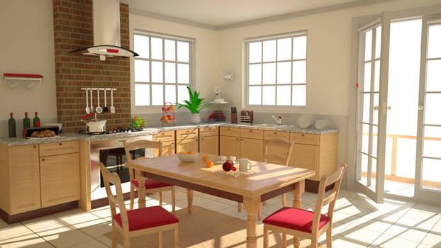 Kitchen 02 - WIP