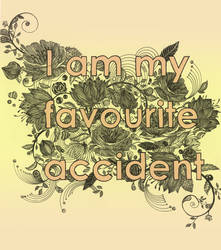 I am my favourite accident