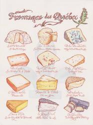 Fromages du Quebec by NatassjaKing