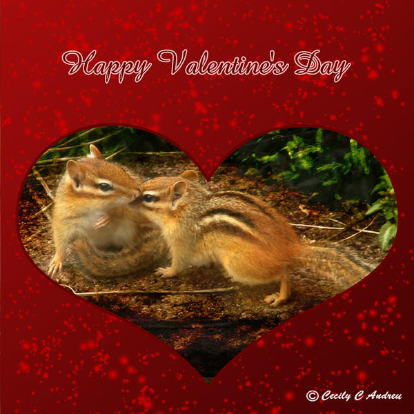 Chipmunk Love by CecilyAndreuArtwork