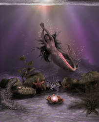 Mermaid Of Posion Cove by 00B00