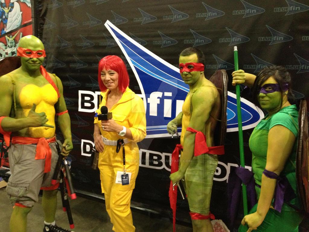 Ax 2013 Teenage Mutant Ninja Turtles Cosplay By Spacestation91 On