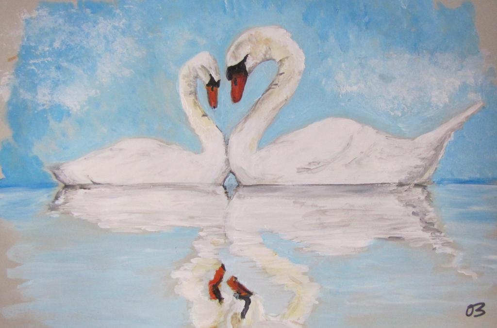 Swans. by Oc-b