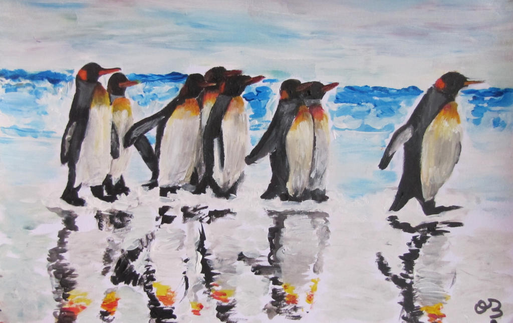 Penguins. by Oc-b