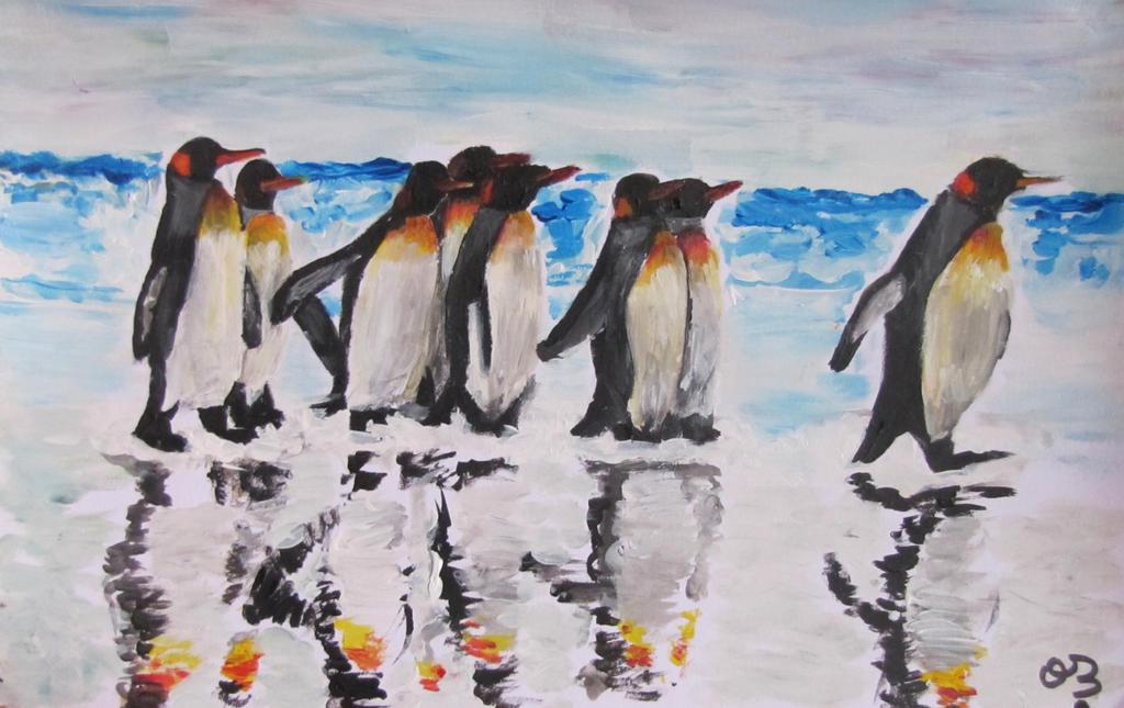 Penguins. by Oc-b