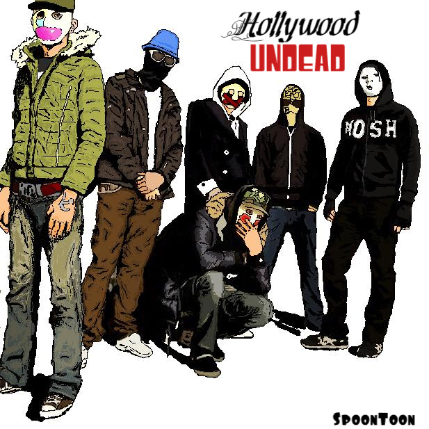 Hollywood Undead by SpoonToon