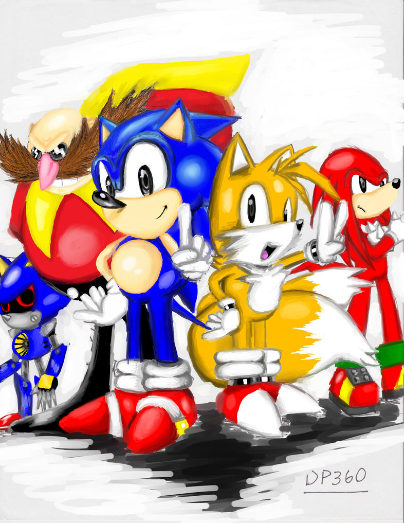 sonic and friends by dp360