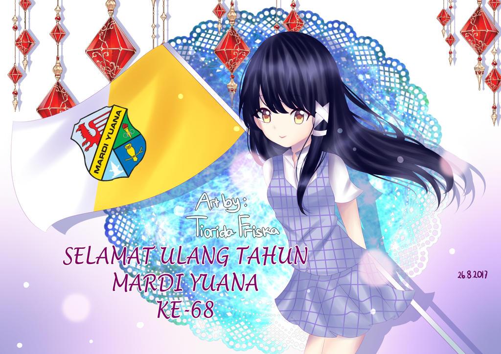 HBD Mardi Yuana !! by efuaka75