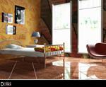 Half orange Bedroom