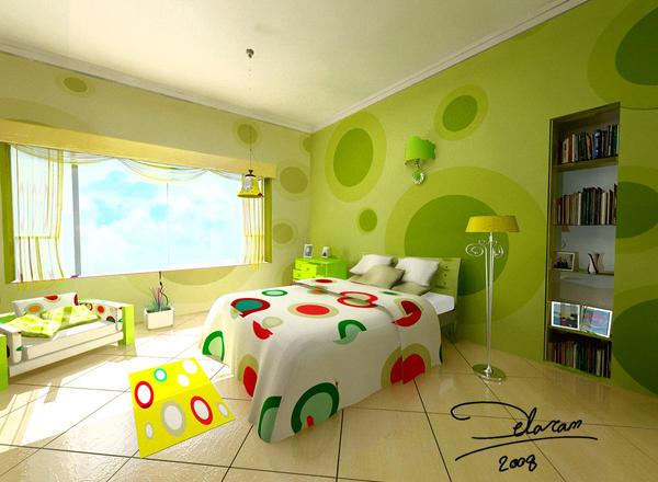 Green alga room