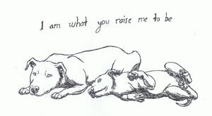 I am What you Raise me to be