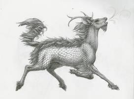 Kirin PENCIL by TheIncredibleHibby
