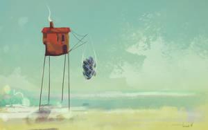 Fisherman's hut by VinSsm