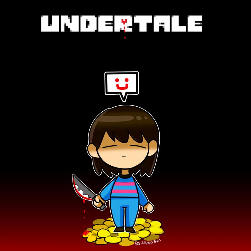 UnderTale Bad Ending by eunj
