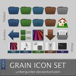 Grain Icon Set Kde4