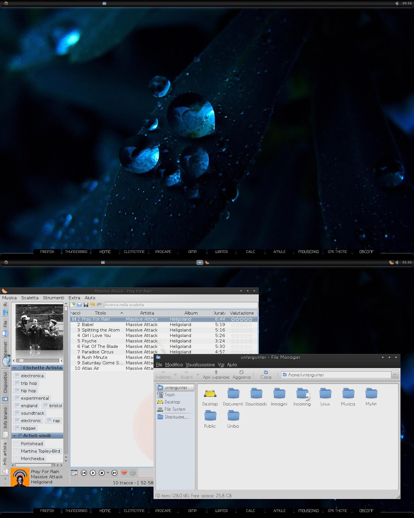 Openbox screenshot by Untergunter