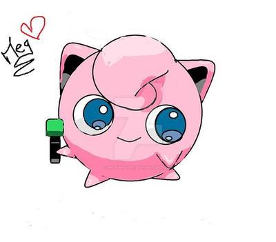 Jigglypuff _ Pokemon by MegumiOishi