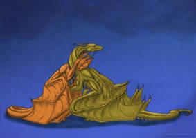 Drachen Trauer by Beast3