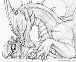 hello dragon by Beast3