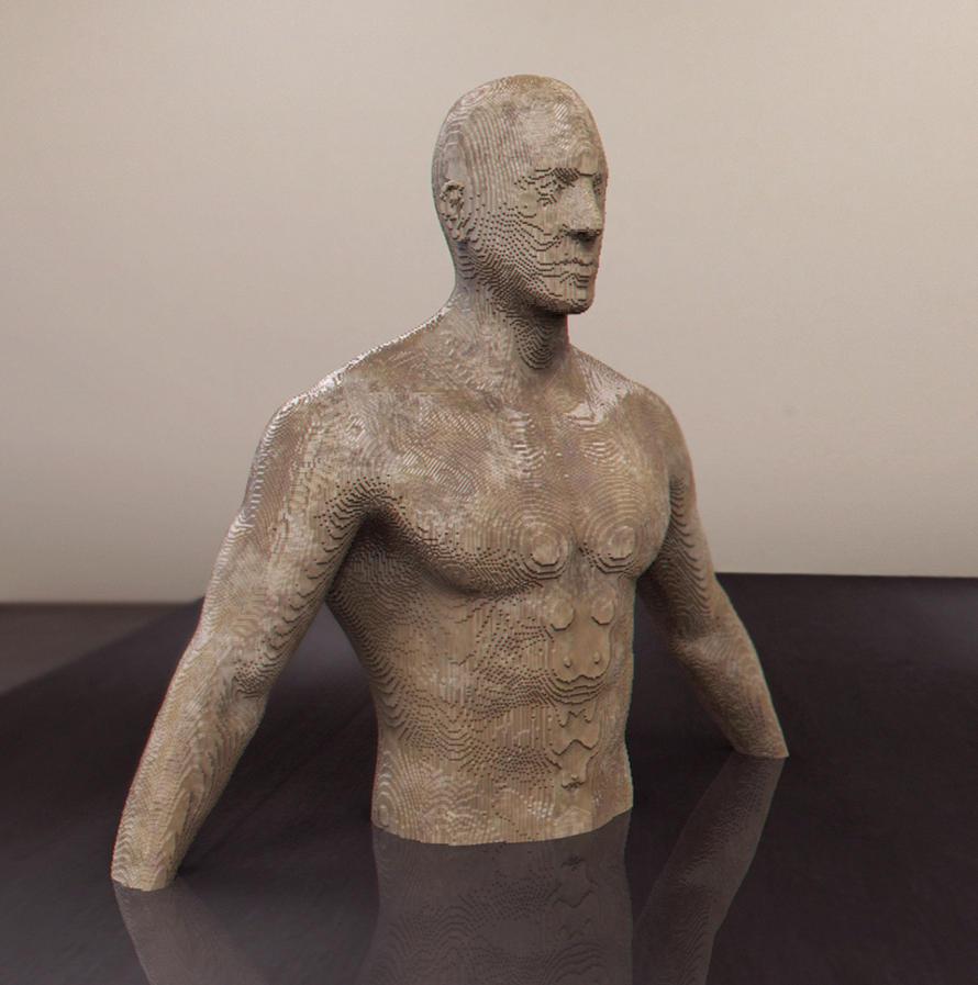 Wood sculpture by NyeAlexandaFrayne