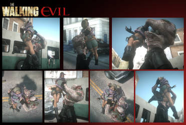 ''The Walking Evil'' by VoreQ