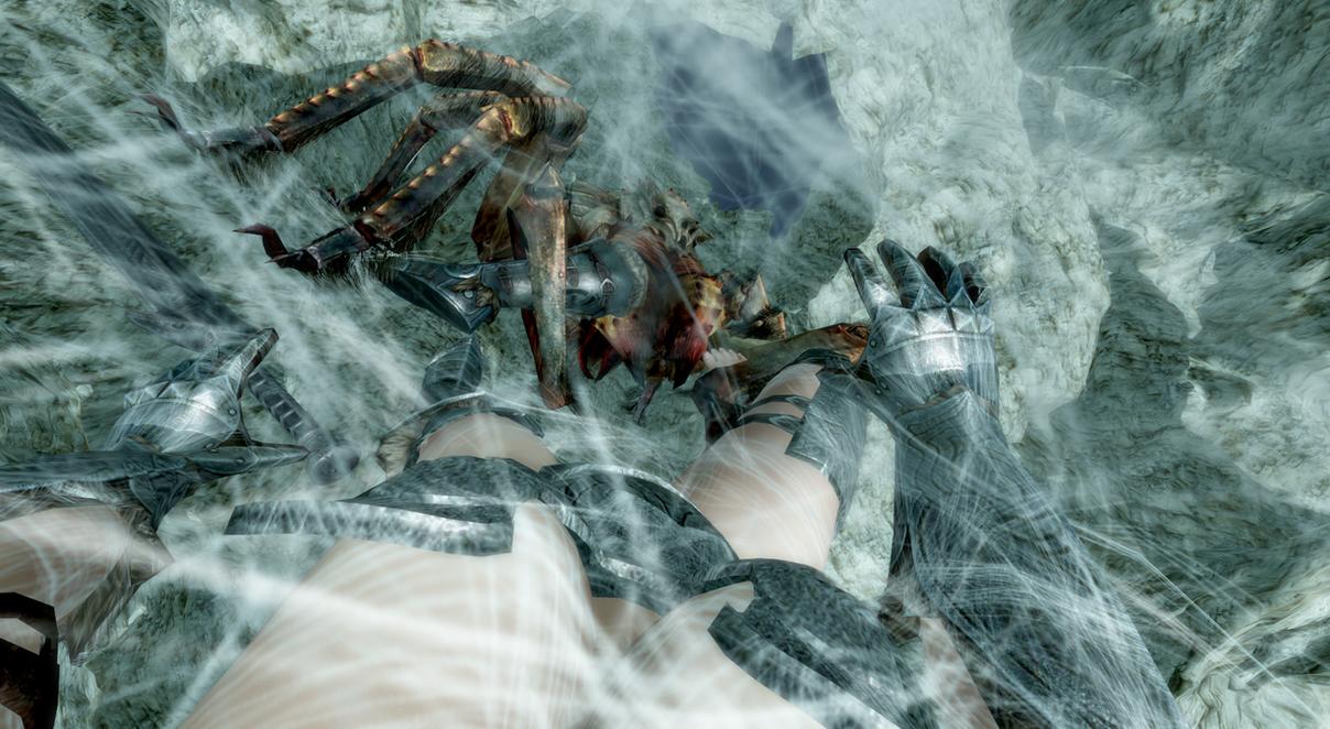 Skyrim Misadventures: Webbed by VoreQ