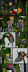 Dragonball: Cell consumes Pan. by VoreQ