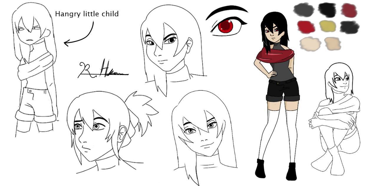 Raven Design by MyImmortal-Manga