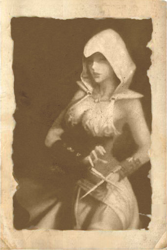 Female Assassin {edit} by CheekyTekk