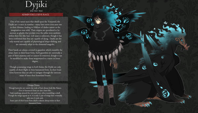 Dyjiki Race Sheet by monokroe