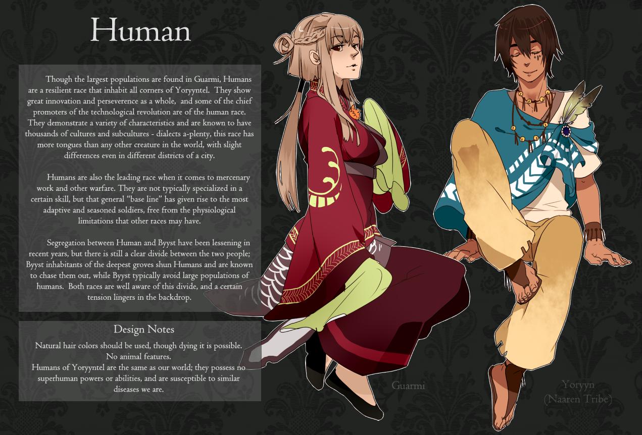 new styles d8164 d291b Human Race Sheet by monokroe on DeviantArt