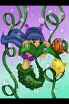 Mermaid 7 making friends