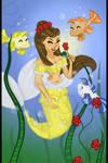 Belle (as a mermaid)