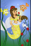 Belle (as a mermaid)